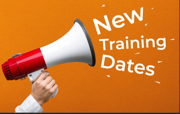 New course dates added