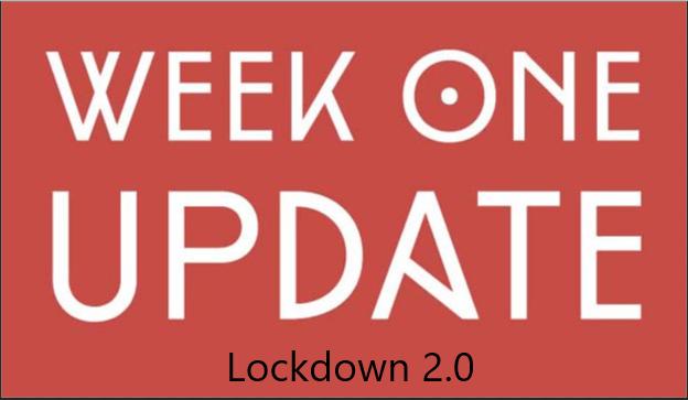 First Week Of Lockdown 2.0 Completed!